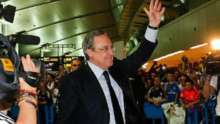 """Florentino: """"La Copa nos da moral para el futuro"""""""