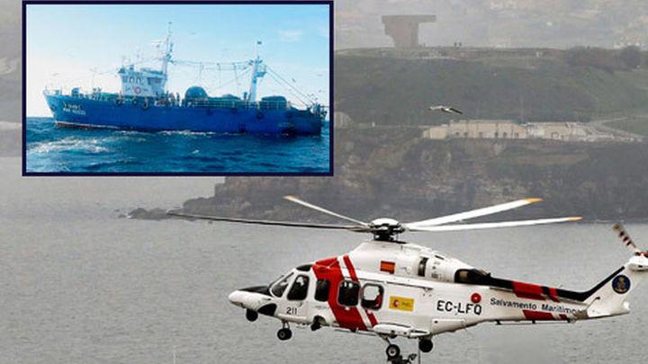 Reanudan la búsqueda de los tripulantes desaparecidos del Mar Nosso