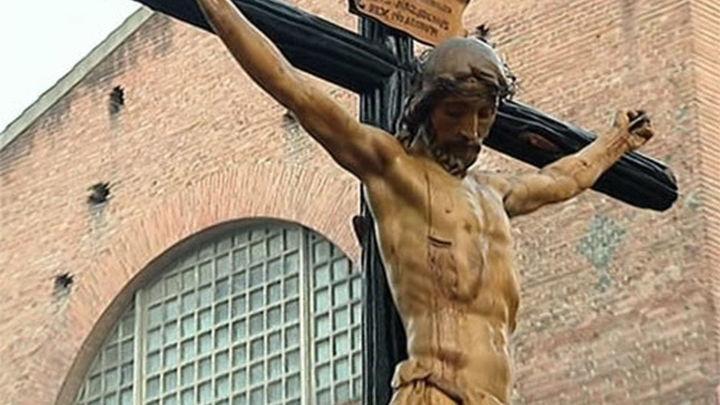 Jesús de Medinaceli y la Dolorosa procesionan juntos después de catorce años