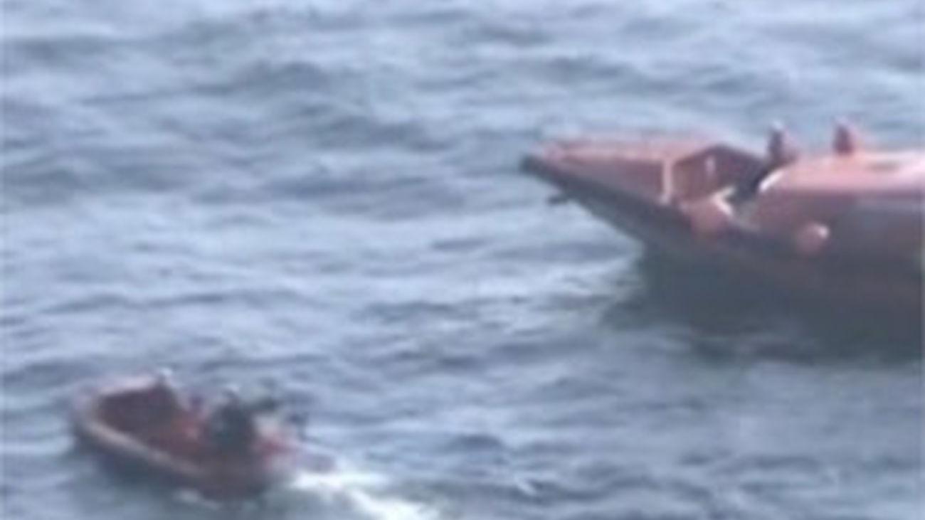 Llegan a Portugal los cuerpos de los tres marineros del naufragio de Asturias