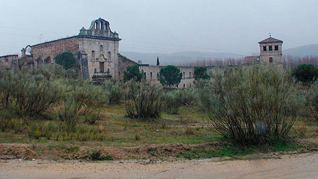El monasterio de Santa María la Real, entre Pelayos de la Presa y San Martín de Valdeiglesias