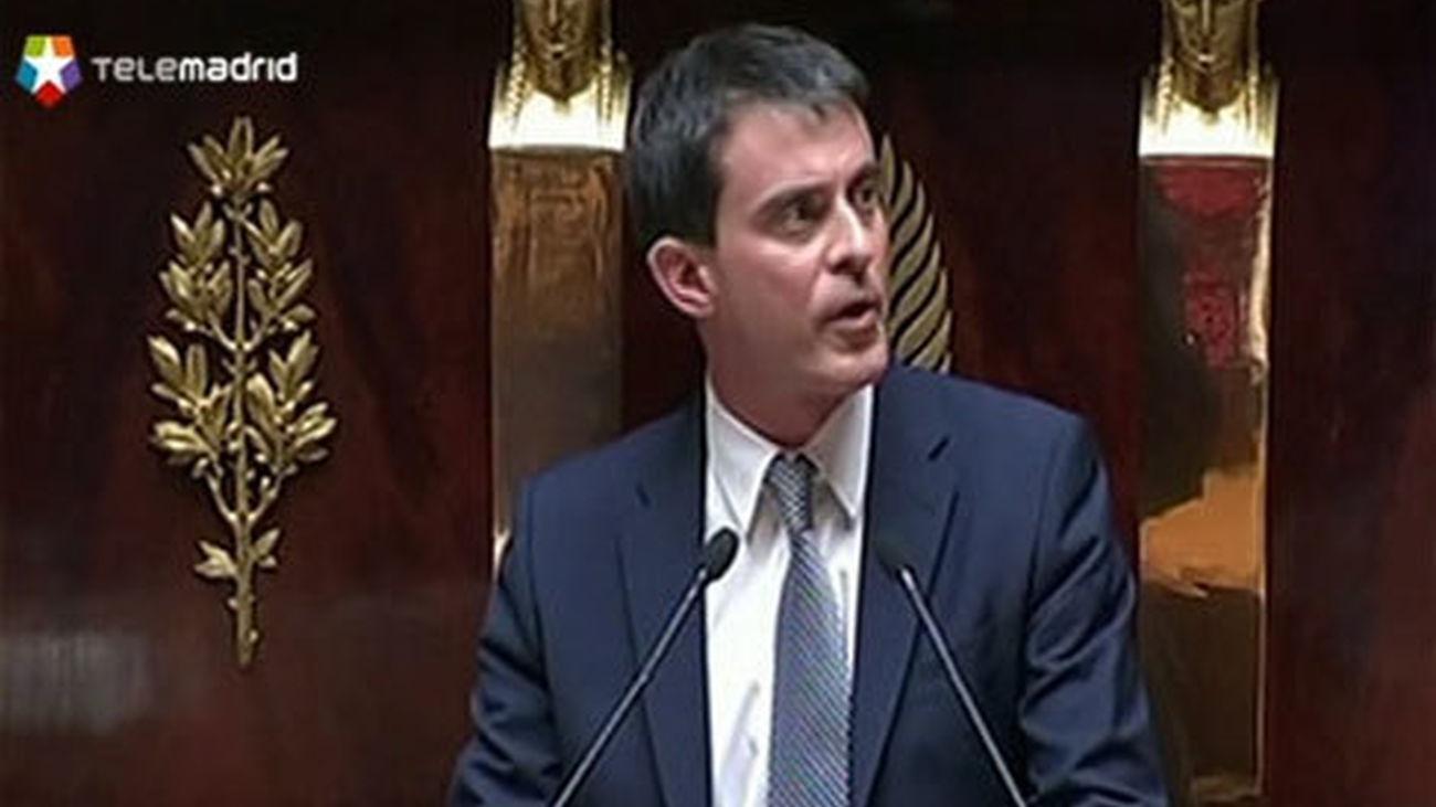 El primer ministro francés, Manuel Valls