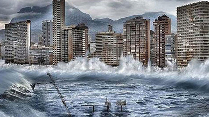 El mar podría invadir 700 metros de litoral español en 2100, según Greenpeace