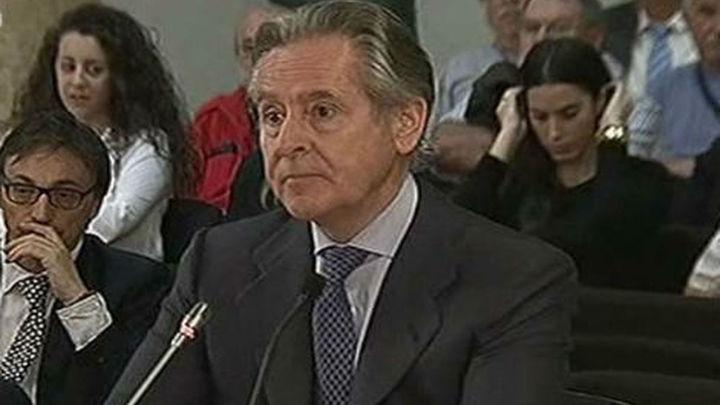Miguel Blesa comparece ante la jueza por los sobresueldos de Caja Madrid