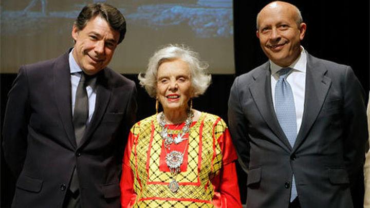 """Poniatowska inicia, """"con gran honor"""", la lectura del 'Quijote' en Madrid"""
