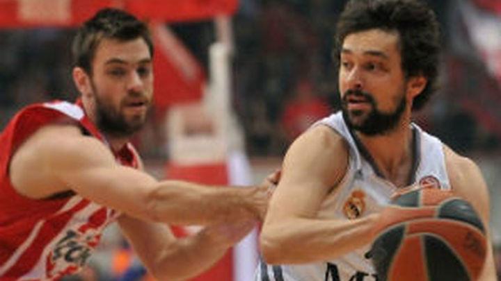 71-62. El Madrid cae en Atenas y habrá quinto partido