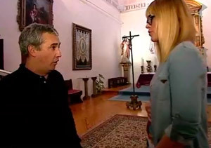 "Carla da el ""cante"" con un tenor"