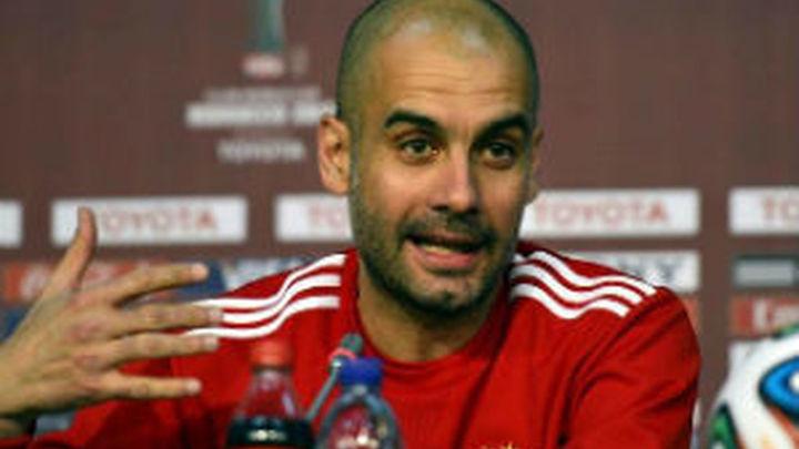 """Guardiola: """"He leído que el Madrid está en la final"""""""