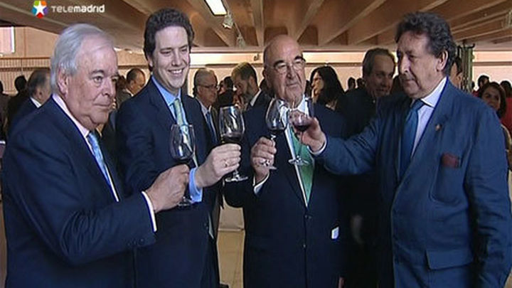 Alfonso Ussía, nombrado primer embajador de los Vinos de Madrid