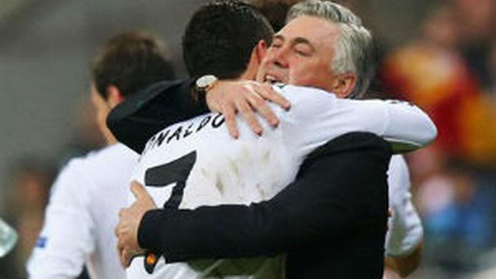 """Ancelotti: """"Tener a Cristiano es una gran ventaja"""""""