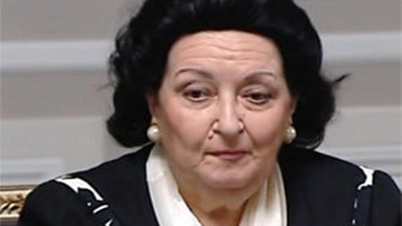 Montserrat Caballé, imputada por defraudar medio millón a Hacienda