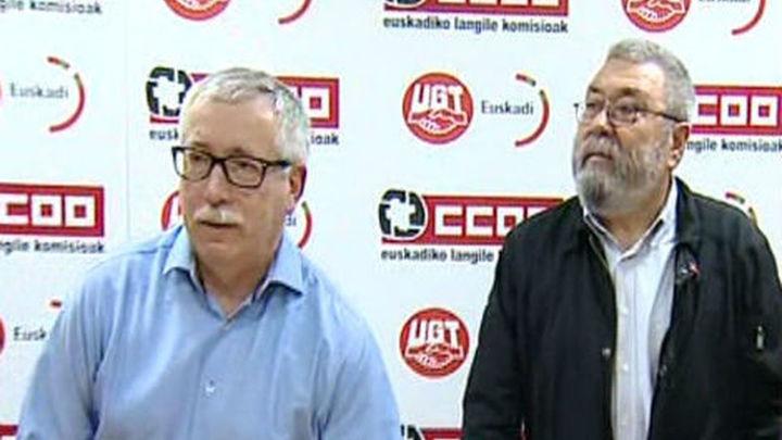 CCOO y UGT convocan 80 actos el 1 de mayo con el lema 'Así no salimos de la crisis'