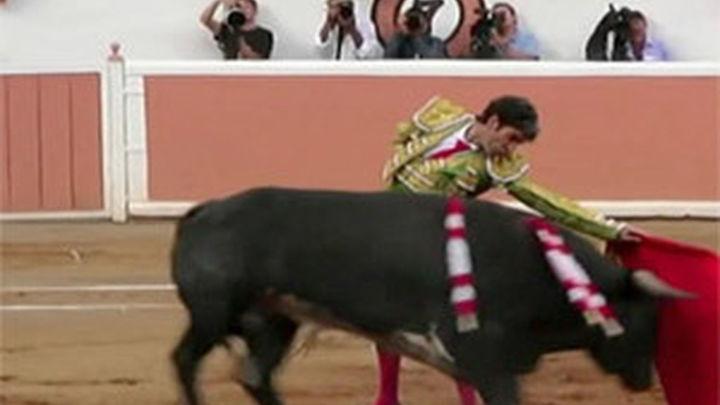 José Tomás reaparece con una faena de época en México
