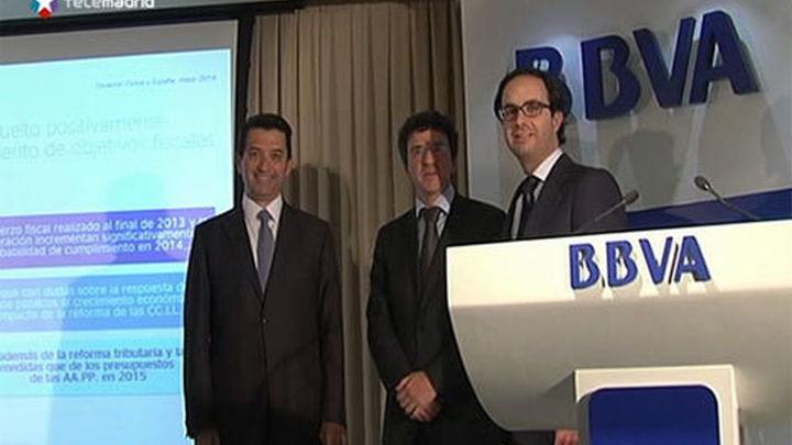 La economía española crecerá el 0,6% en el tercer trimestre, según BBVA