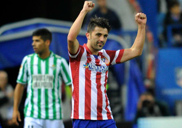 At. Madrid, 5 - Betis, 0
