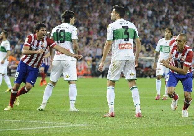 At. Madrid, 2 - Elche, 0