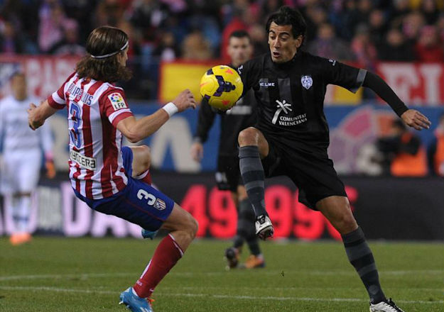 At. Madrid, 3 - Levante, 2