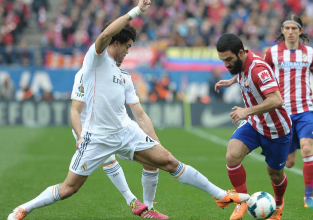 At. Madrid, 2 - Real Madrid, 2