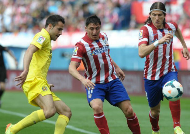At. Madrid, 1 - Villarreal, 0