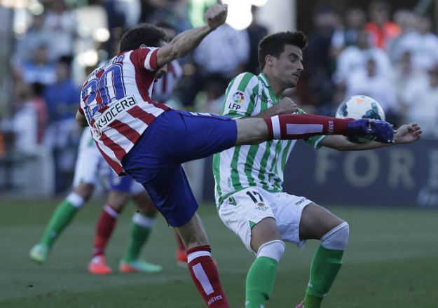 Betis, 0 - At. Madrid, 2