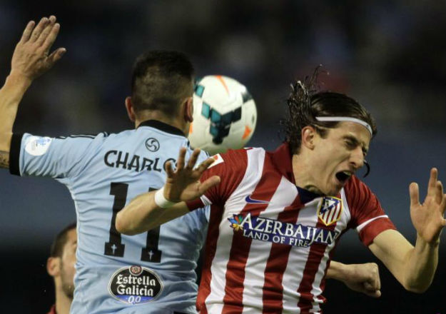 Celta, 0 - At. Madrid, 2