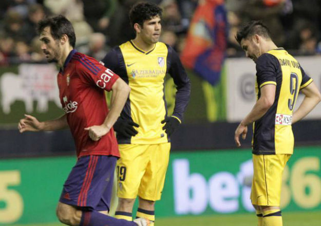 Osasuna, 3 - At. Madrid, 0