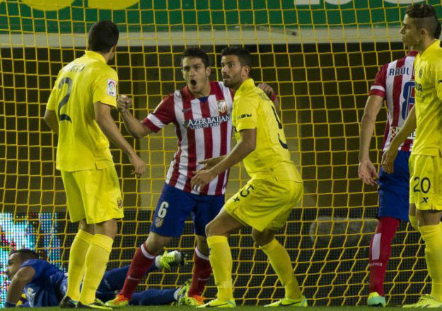 Villarreal, 1 - At. Madrid, 1