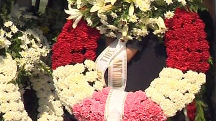 Funeral por los cinco menores fallecidos en el accidente de Badajoz