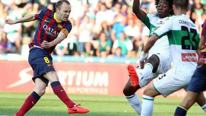 0-0. El Barça se jugará la Liga en el Camp Nou