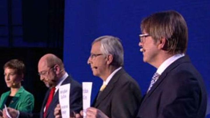 Inmigración, desempleo y corrupción se adueñan del debate de los candidatos europeos