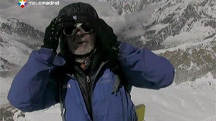 Carlos Soria corona la tercera cima del mundo