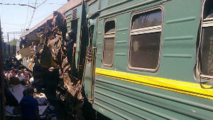 Al menos cuatro muertos en un choque de trenes en la región de Moscú