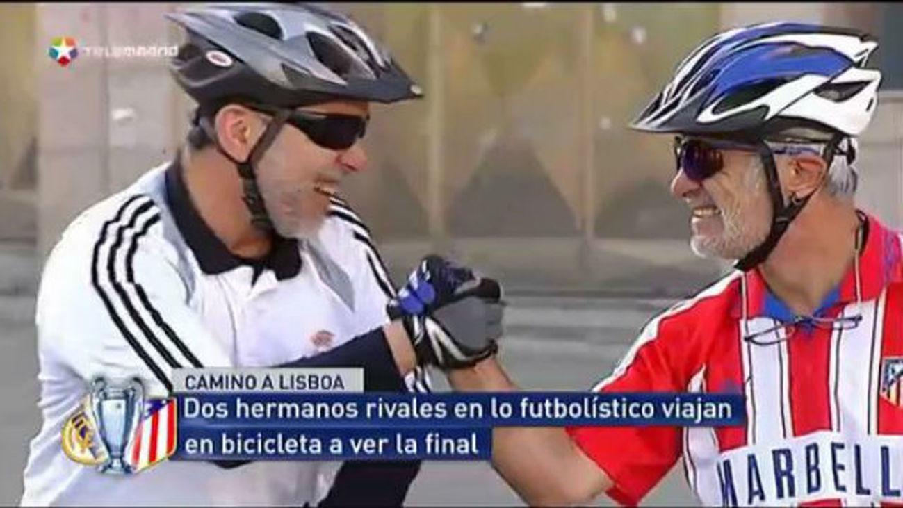 A la final, en bici