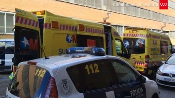 Un obrero grave tras caer en Delicias desde un andamio a cuatro metros