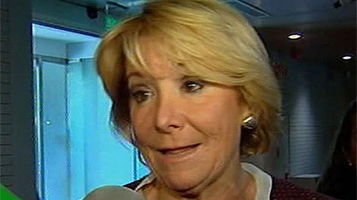 Esperanza Aguirre cree que Rato no ha estado acertado desde que dejó el FMI
