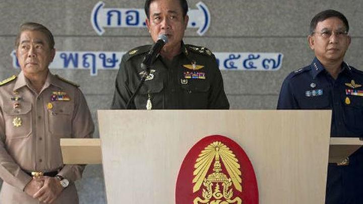 La junta militar de Tailandia recibe el visto bueno del rey