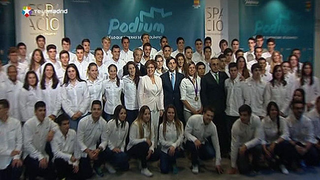 'Podium', un programa de becas COE para 80 promesas deportivas