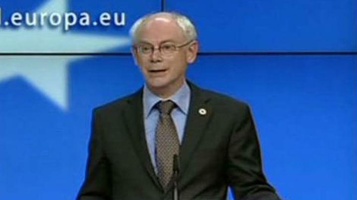 Van Rompuy recibe el mandato para negociar el presidente del Consejo Europeo