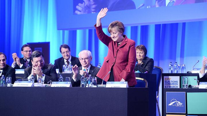 Y la mujer más poderosa según 'Forbes es'... Merkel