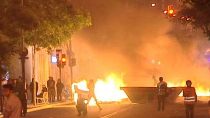 Ocho detenidos en Barcelona tras el desalojo del centro 'okupado' de Can Vies