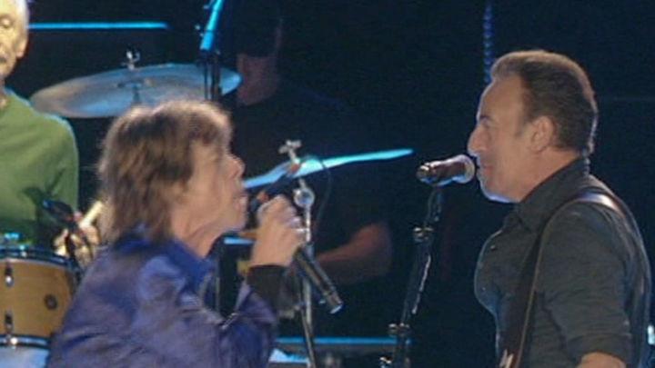 The Rolling Stones y Bruce Springsteen comparten escenario en Lisboa