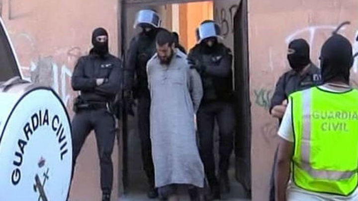 Seis detenidos en operación contra el terrorismo yihadista en Melilla
