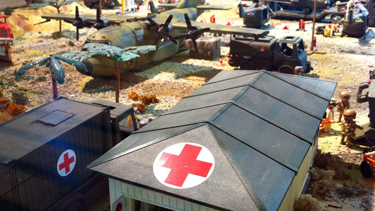 El Mercado del Juguete de Madrid rinde homenaje a las tropas militares españolas