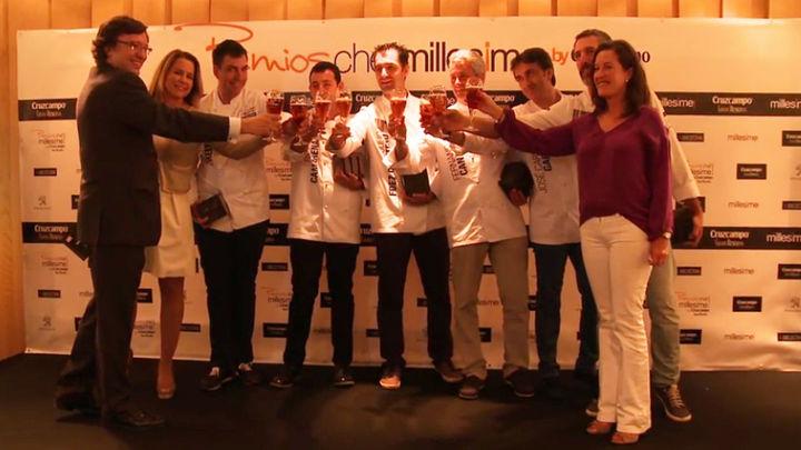 Millesime premia a seis grandes cocineros por innovar con sabores autóctonos