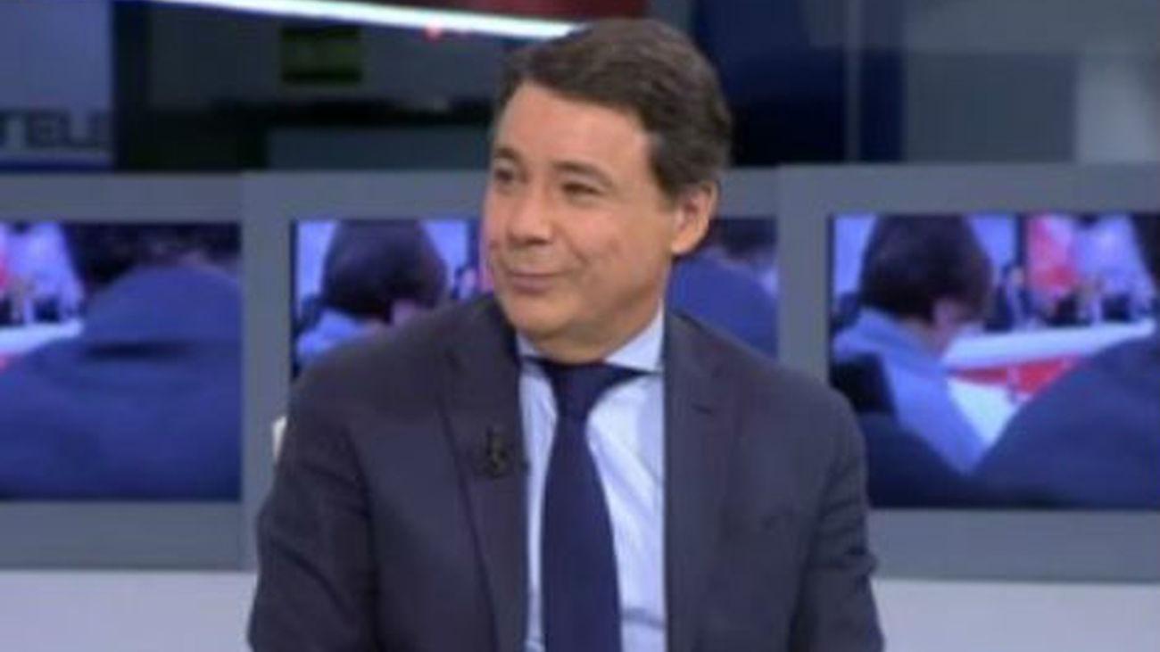 Ignacio González, en Telemadrid