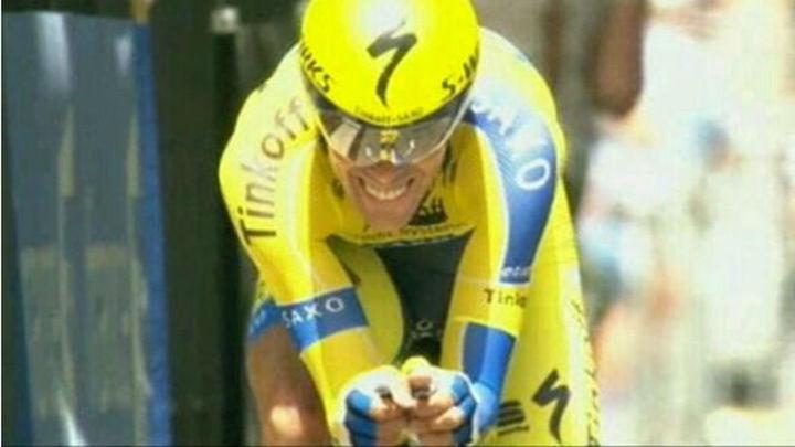 Dauphiné: Froome se impone en la crono a Contador