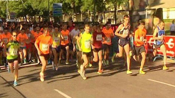 Más de 1.100 corredores corren por las Fuerzas Armadas