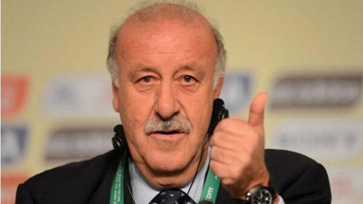 """Del Bosque: """"Somos optimistas de cara al inicio del Mundial"""""""