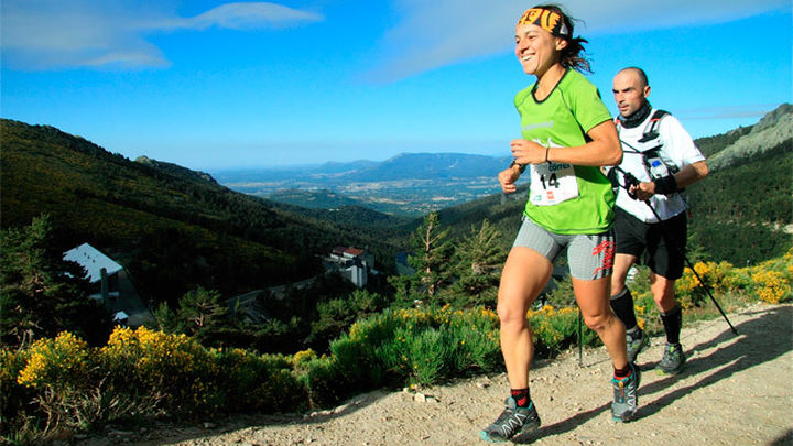 David Galindo y Ana Paz, campeones del Maratón Alpino Madrileño