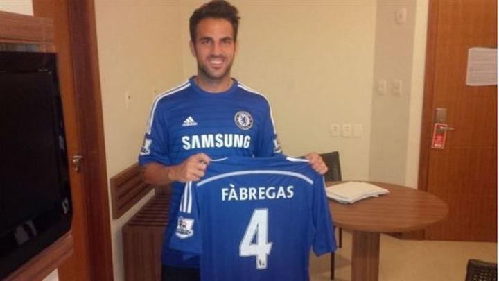 Cesc, traspasado al Chelsea